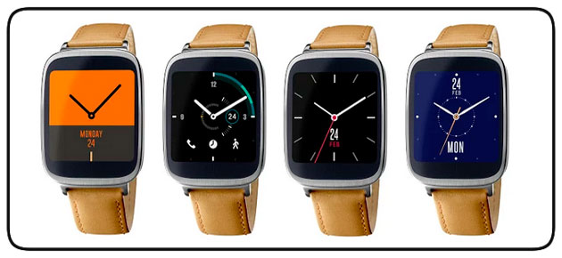 Few roles in the Asus ZenWatch