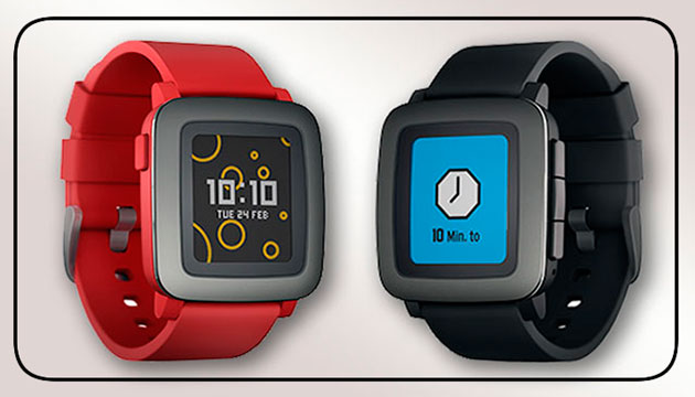 Pebble Time, the first SmartWatch that came on the market